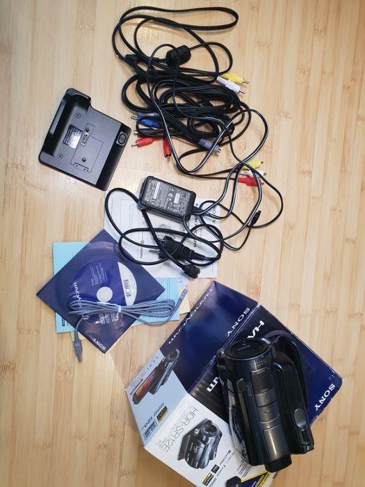 Camera video cu Hard Disc Sony HDR-SR 12 E, 120 GB, baterie extinsa