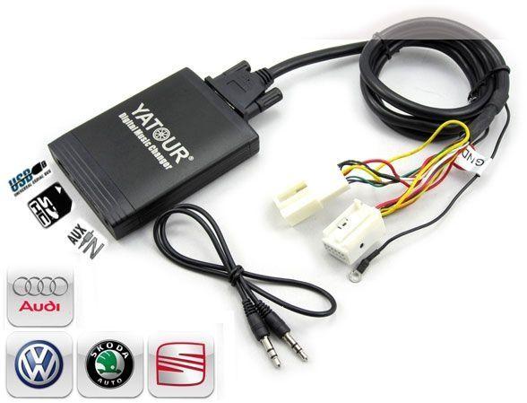 DMC Yatour - adaptor mp3 auto USB | SD pt AUDI, VW, Seat, Skoda 12pin