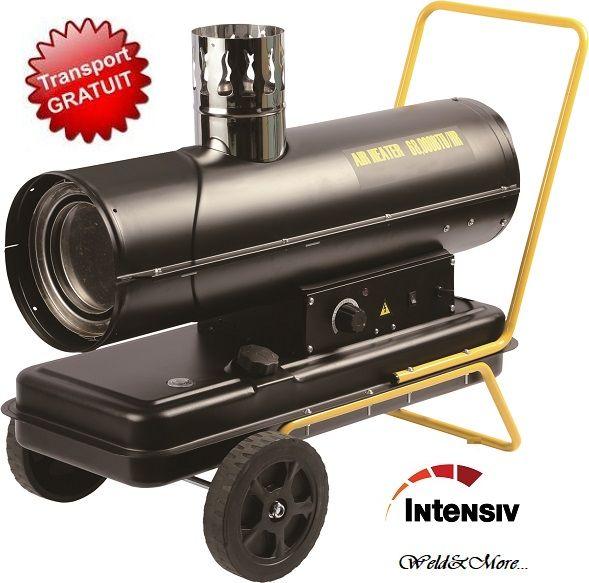 PRO 20kW I-Diesel-Tun de caldura pe motorina-ardere indirecta Intensiv