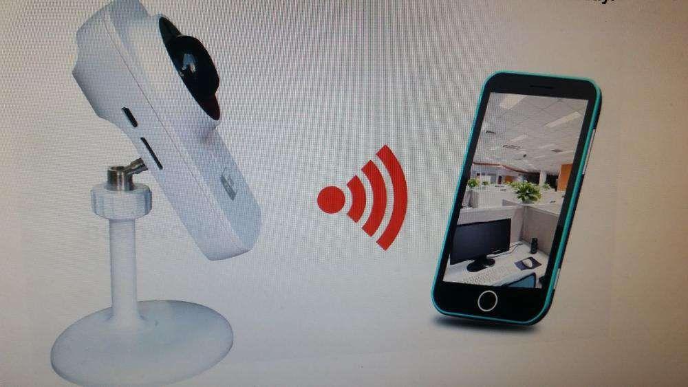 Camera supraveghere IP Wi-Fi , card, night vision,sunet NOU !