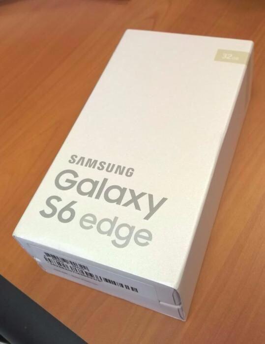 Samsung Galaxy S6 Edge 32GB novo selado na caixa