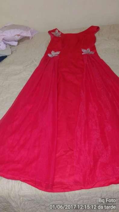 Vestido Vermelho De festa A Venda