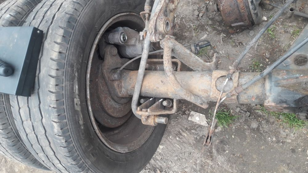 Punte dubla spate iveco daily an 2008