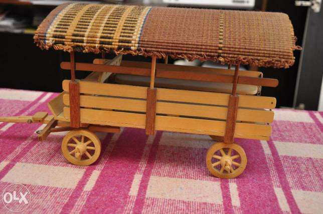 Caruta din lemn artizanat