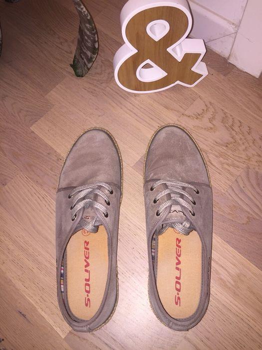 Pantofi s'Oliver din piele naturala