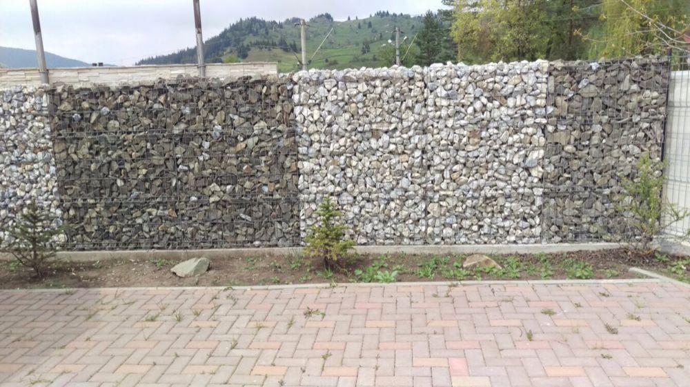 Piatra concasata pavele si ornamentala de munte gard