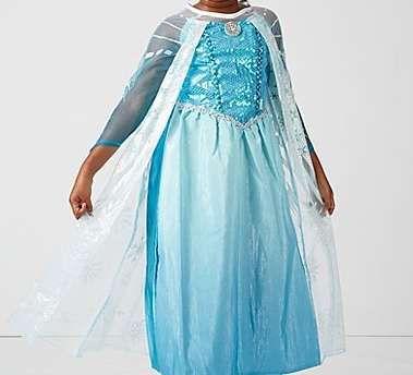 rochie Disney printesa Elsa 6-8 ani Anglia (Frozen/Regatul de Gheata)