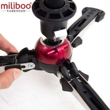 Picior monopied Miliboo MJZ-01S cu 3 picioare retractabile, monopod