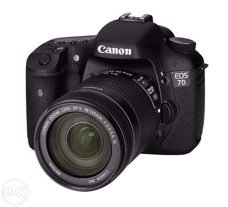 Canon EOS 7D + Canon EF-S 18-135mm f/3.5-5.6 IS+Card SD 16GB Sandisk