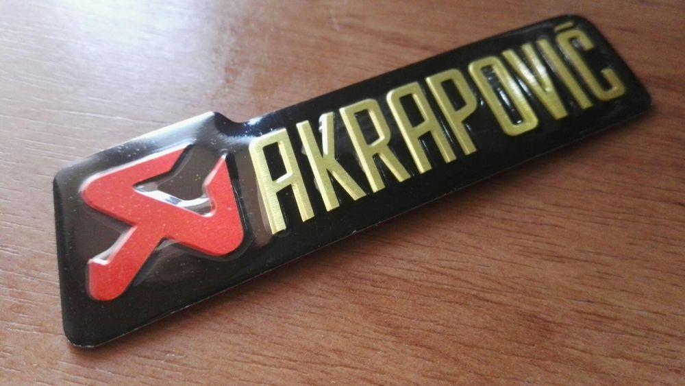 Sticker / stickere Akrapovic
