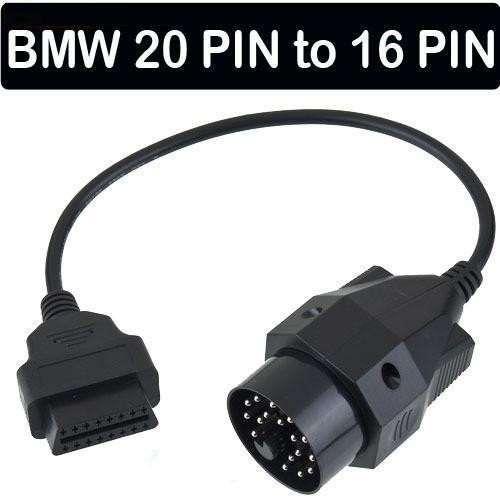 Cablu adaptor pt interfata diagnoza BMW 20 pini la OBD2 16 pini
