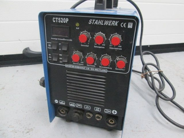 Taietor plasma 50A+aparat sudat cu arc200A+sudura AWI