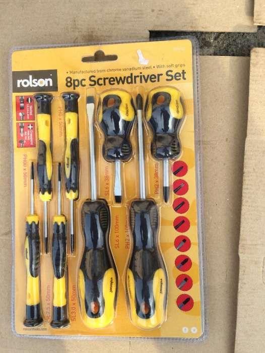 Set Surubelnite Rolson 8pcs screwdriver 90590