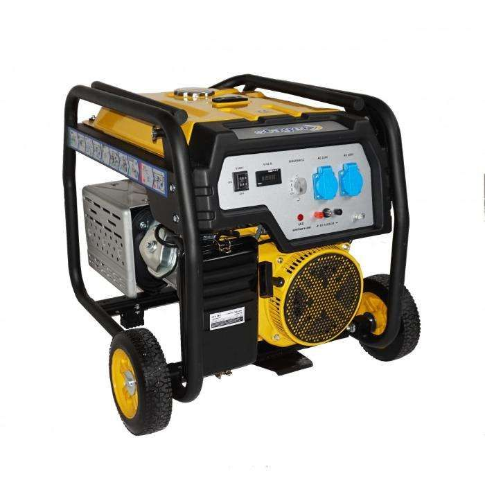 Generator open frame Stager FD 7500E - Putere 6kW - Pornire Electrica