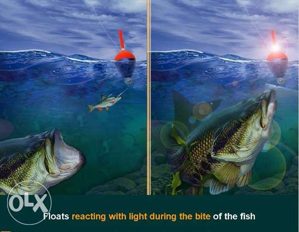 5037 Electronic pluteste pescuit noapte 3