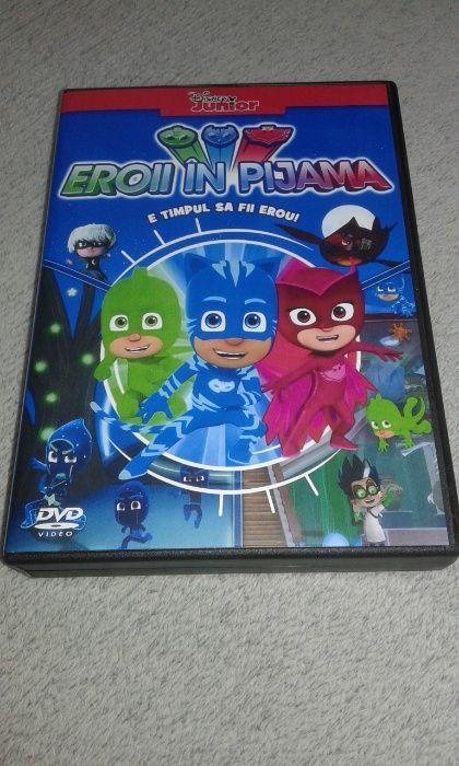 Eroi in Pijama - PJ Masks DVD dublat in limba romana