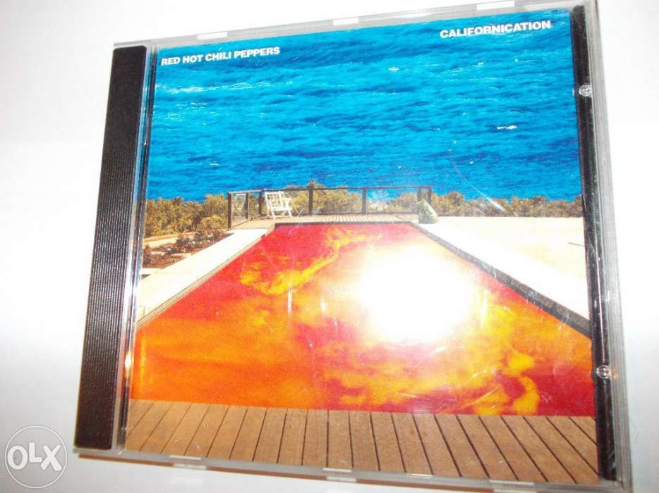 Cd Original Red Hot Chili Peppers