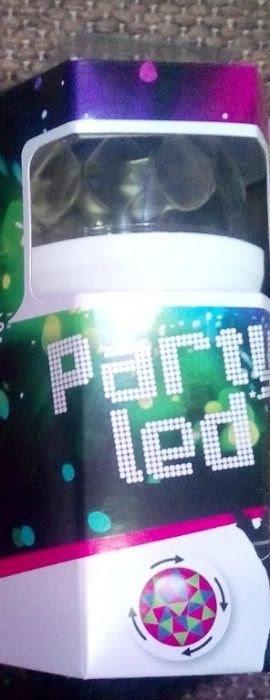 Bec party disco rgb party led