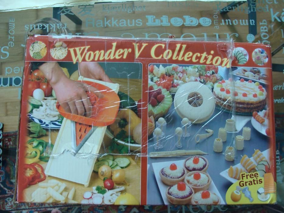 Wonder V Collection - Ajutorul perfect in bucatarie