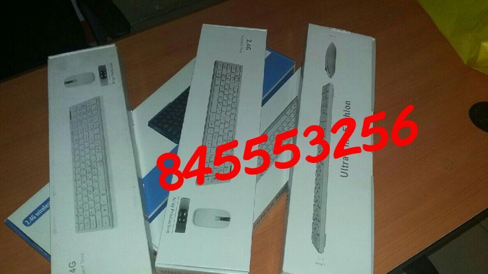 Kit de teclado e mouse wireless com protector de poeira Maputo - imagem 3