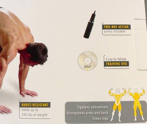 Minge fitness gonflabila, 75 cm , Everlast