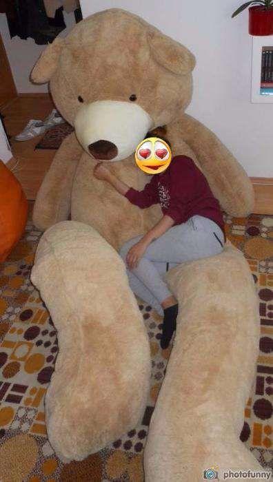 Mega urs de plus urias / mare / gigant /enorm - 3,3 metri