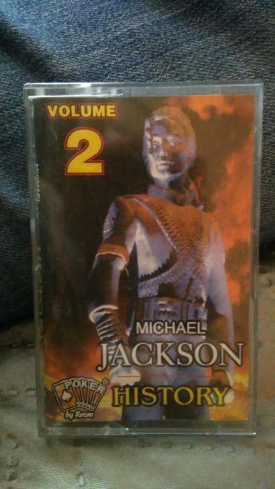 Casetă audio michael jackson history