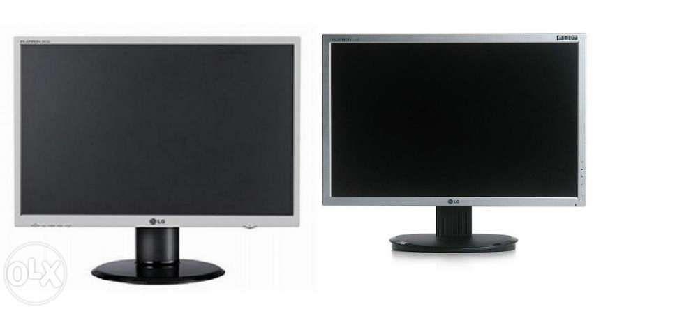 """Monitoare LG LCD Wide 20"""", 22"""" Benq lcd 19"""" carcase, surse PC"""