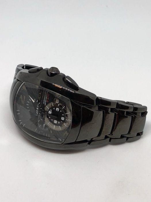 Ceas Barbat Chronotech 7024M Negru Metalic Impecabil Original Bratara