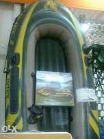 Barca gonflabila peneumatica pentru 2 persoane completa cod 68346