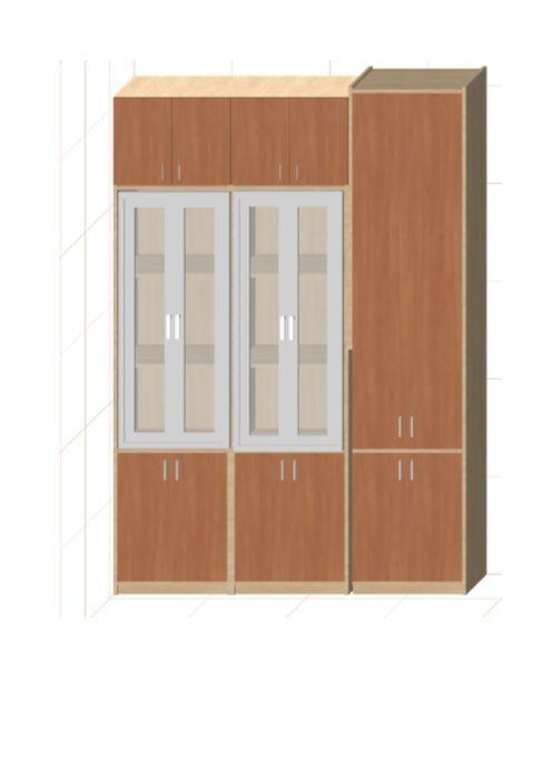 Комплект мебели из 3 шкафов