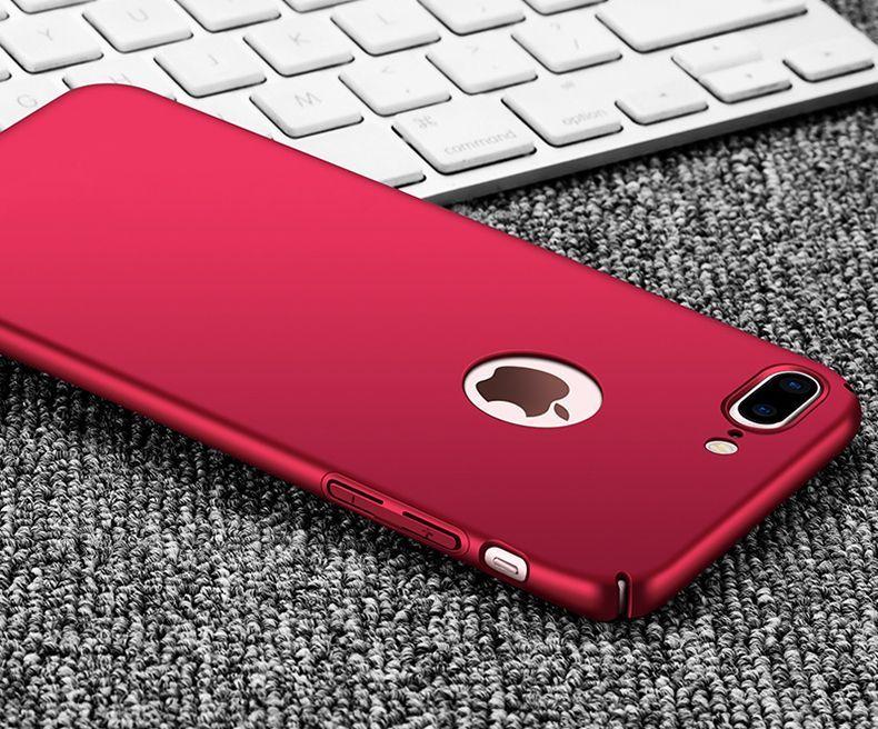 Thin Fit ултра тънък твърд мат кейс за iPhone 6, 7, 8, 7+, 6+, 8 Plus гр. София - image 5