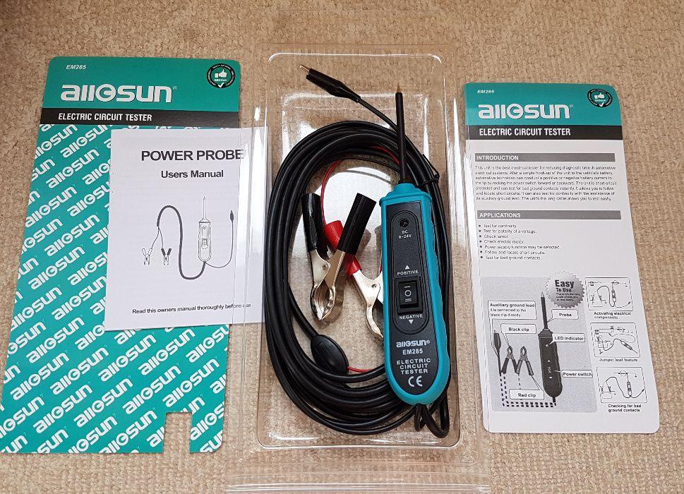 Tester circuit electric auto All-Sun EM285 – sonda electrica 6-24V DC