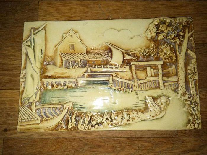 Tablou ceramica 30 x 19 cm