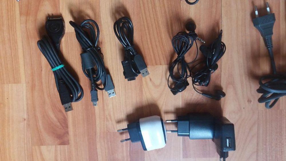 Încarcatoare auto,retea,cabluri date,casti telefoane