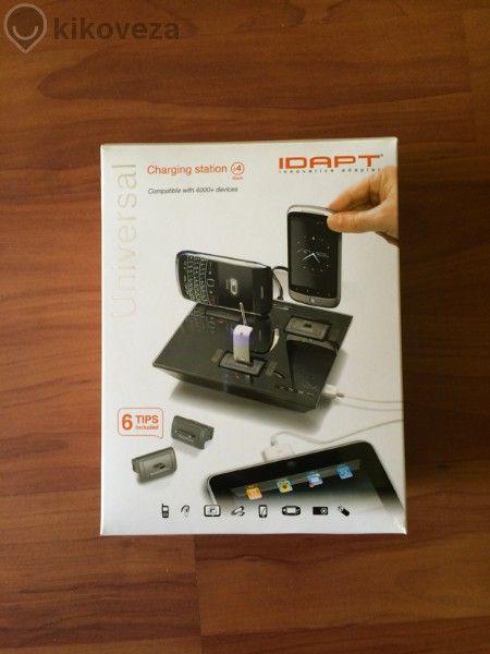 Универсално зарядно idapt i4 - зарежда до 4 устройства едновременно!