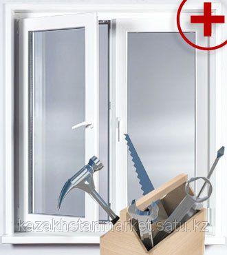 Изготовление окон, дверей из ПВХ. Регулировка и ремонт окон и дверей.