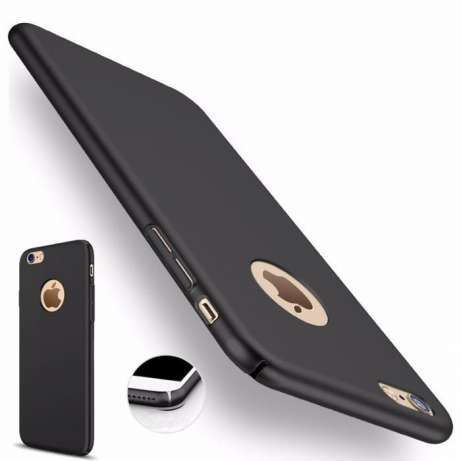 Husa Iphone 6 6S Plus Silicon Ultra Slim 0.28mm Neagra