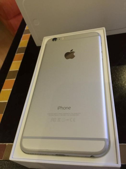 Iphone 6 plus, 64GB na caixa