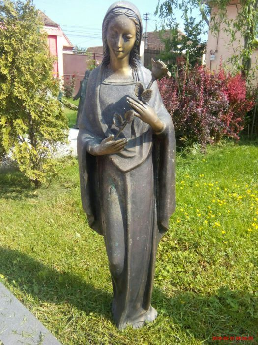 Statueta bronz, deosebita.