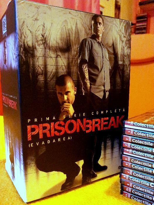 Colectia completa Prison Break 12 DVD, Evadarea