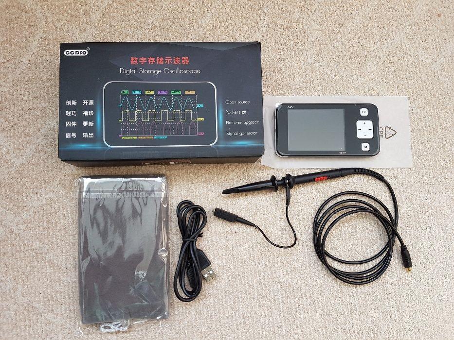 Mini Osciloscop portabil Digital ARM DSO Nano DS211 USB 2.8 cu sonda