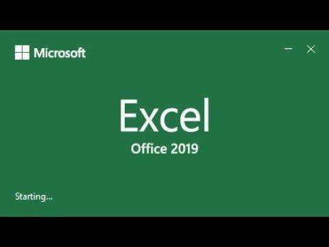 Instalação Excel 2019
