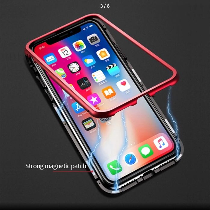 Husa Magnetica Full Body iPhone X