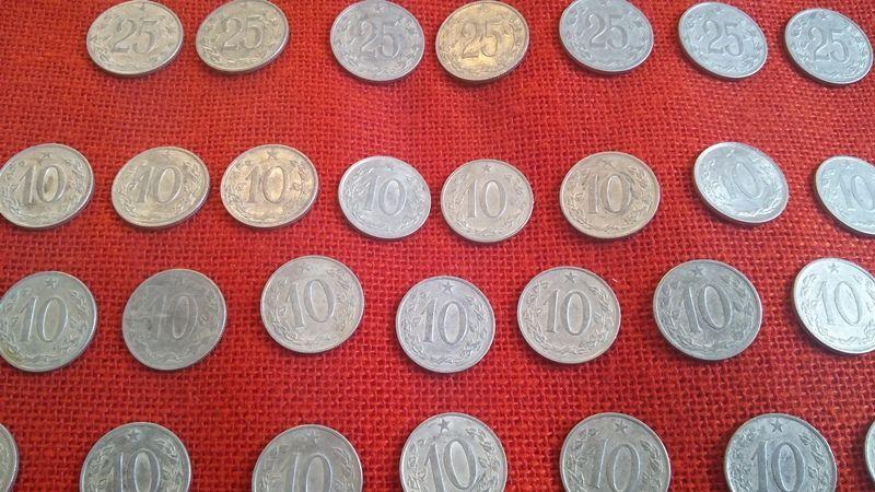 Чешки монети, 51 броя, емисии от 1962г. до 1969г., много запазени гр. Варна - image 5