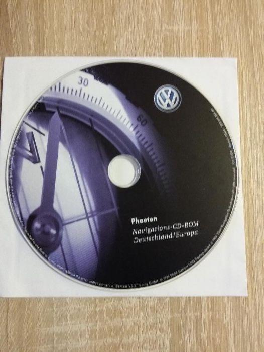 CD Navigatie Harti Volkswagen Phaeton Original