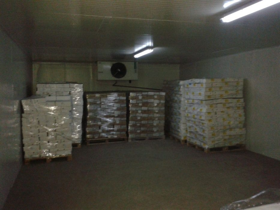 Cameră frigorifică industrială si instalatii frigorifice industriale