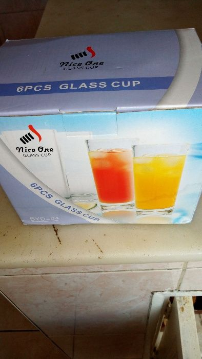 Jogo de copos novos