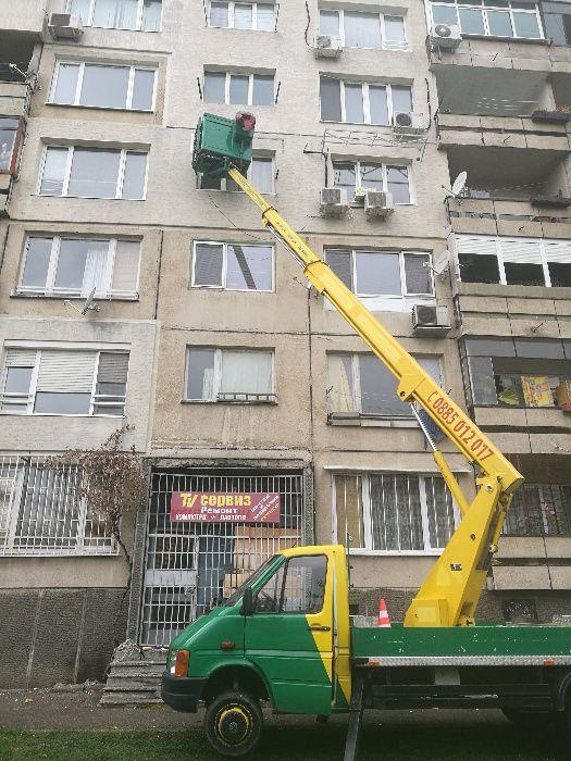 Автовишки под наем, услуги с автовишки гр. София - image 4
