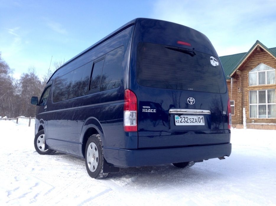 Услуги микроавтобуса/пассажирские перевозки/TOYOTA HIACE/Развозка Астана - изображение 3